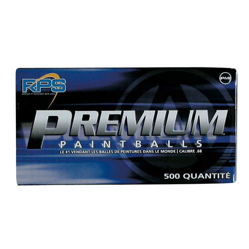 RPS Premium Paintballs, 500ct. Blue/Yellow