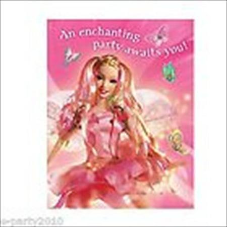 Barbie 'Fairytopia' Invitations w/ Env. (8ct) (80's Invitation Ideas)