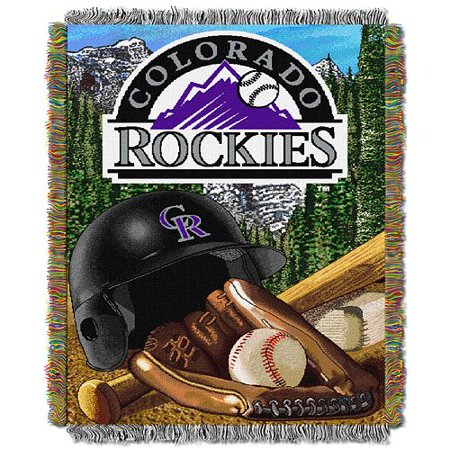 MLB Tapestry Colorado Rockies
