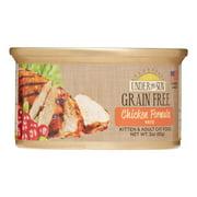 Under The Sun Grain-Free Chicken Wet Cat Food, 3 Oz