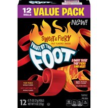 Fruit Snacks: Fruit by the Foot Sweet & Fiery