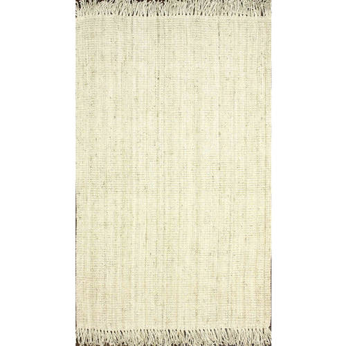 nuLOOM Hand Woven Chunky Loop Jute Area Rug or Runner