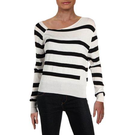 Cheap Monday Womens Striped Asymmetrical Pullover Sweater B/W S](Cheap Womens)