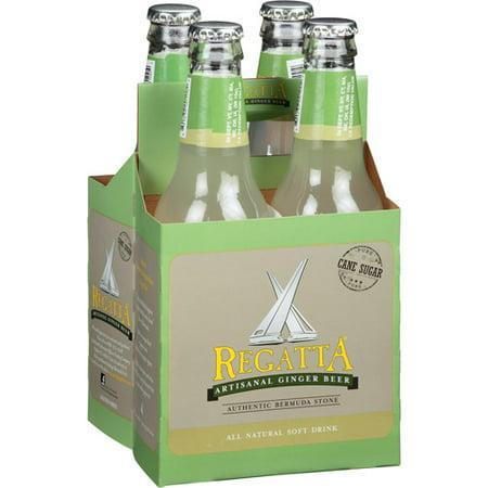 Regatta Artisanal Ginger Beer Soda, 12 fl oz, (pack of