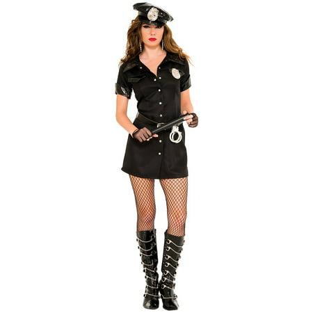 Sexy Officer Adult Costume - Small/Medium