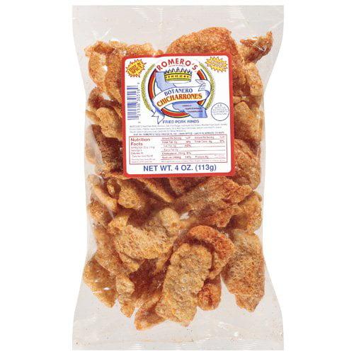 Romeros Botanero Spicy Chicharrones, 3.5 oz