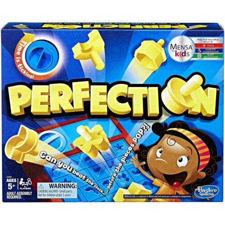 Perfection Game, for 1 or more players, Ages 5 and