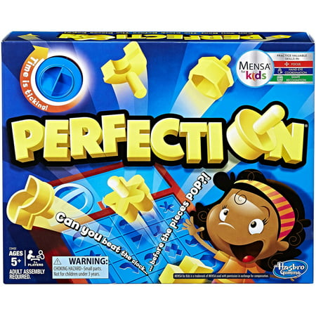 One Game Set (Perfection Game, for 1 or more players, Ages 5 and up )