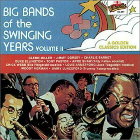 Big Bands Of The Swinging Years, -
