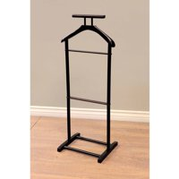 Home Craft Men's Valet Stand in Multiple Colors