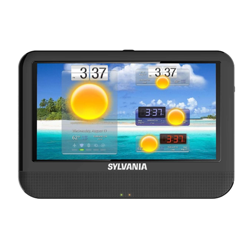 """Sylvania SLTDVD9220 3-in-1 9"""" Portable DVD Player and DVD Combo - Refurbished"""