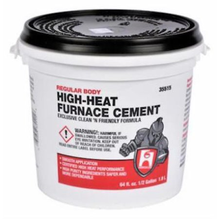 - Hercules 1/2 Gallon Furnace & Stove Cement