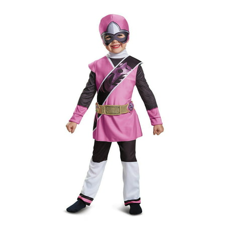 Power Ranger Ninja Steel Pink Ranger Child Halloween Costume - Girl Power Rangers Halloween Costumes