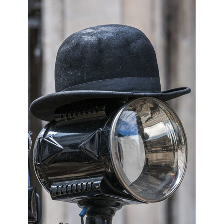 LAMINATED POSTER Bowler Hat Hat Black Hat Vintage Poster Print 24 x - Kids Bowler Hat