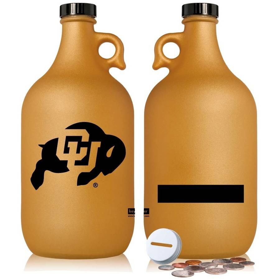 NCAA Colorado Buffaloes 64 oz Team Color Frost Jug