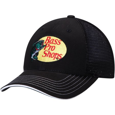 Men's Checkered Flag Black Martin Truex Jr. Adjustable Hat - OSFA
