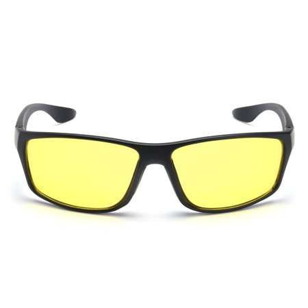 Asewin HD Night Vision Glasses for Driving - Premium Polarized Yellow Lens Suitable for Men and Women (Cool Hairstyles For Men With Glasses)