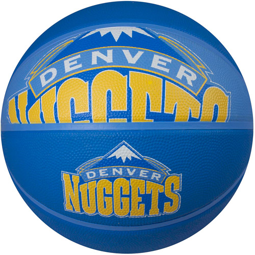 Spalding Team Logo Basketball, Denver Nuggets