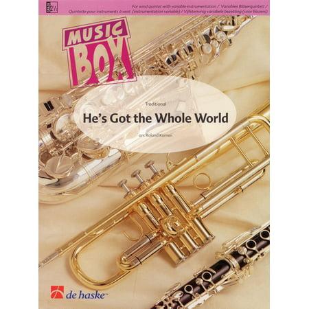 De Haske Concert Band - De Haske Music He's Got the Whole World Concert Band Level 2.5 Arranged by Roland Kernen
