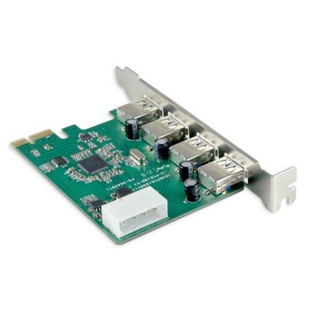 IOCreat PCI Express PCIe USB 3.0 4 Port Card Etron Chipset Molex Power