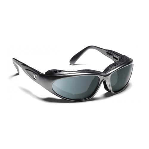 Image of 7 Eye Cape Bali Sunglasses, Charcoal Frame, 24 7 Gray NXT Lens