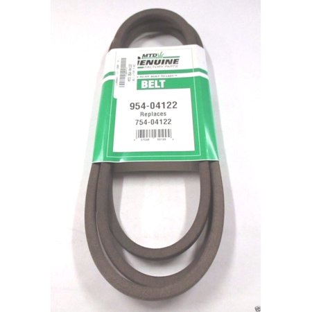 Genuine MTD 954-04122 Deck Belt For Troy-Bilt Brute Huskee Yard-Man Yard