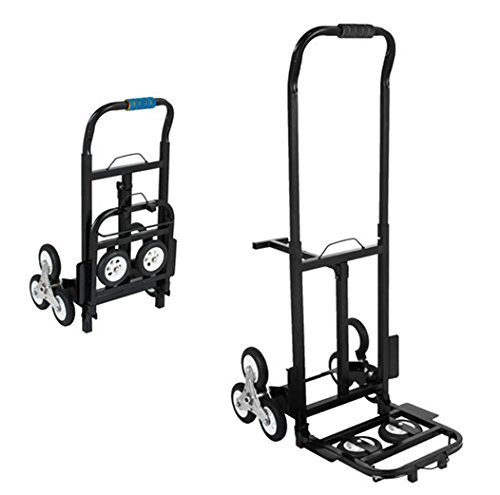 BestEquip Portable 330 LBS Capacity Stair Climbing Cart 30 Inch Folded Height Stair Climber Hand Truck with... by BestEquip