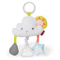 Skip Hop Silver Lining Cloud Jitter Stroller Toy, Cloud