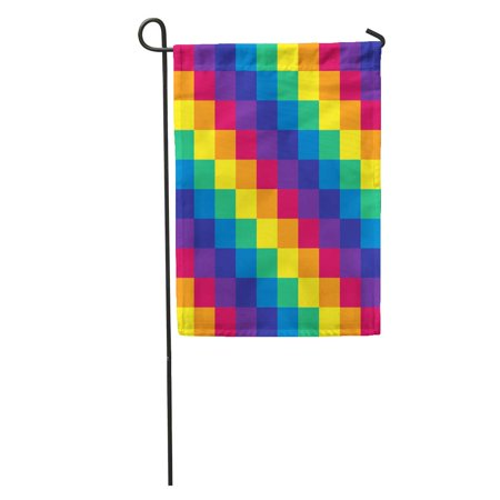Gay pride flag colored