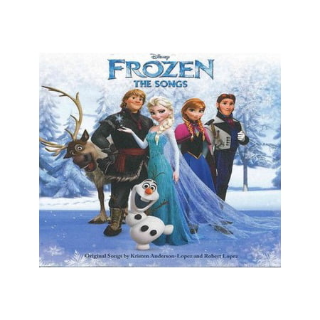 Disney Frozen: The Songs Soundtrack (CD) - Disney World Halloween Songs
