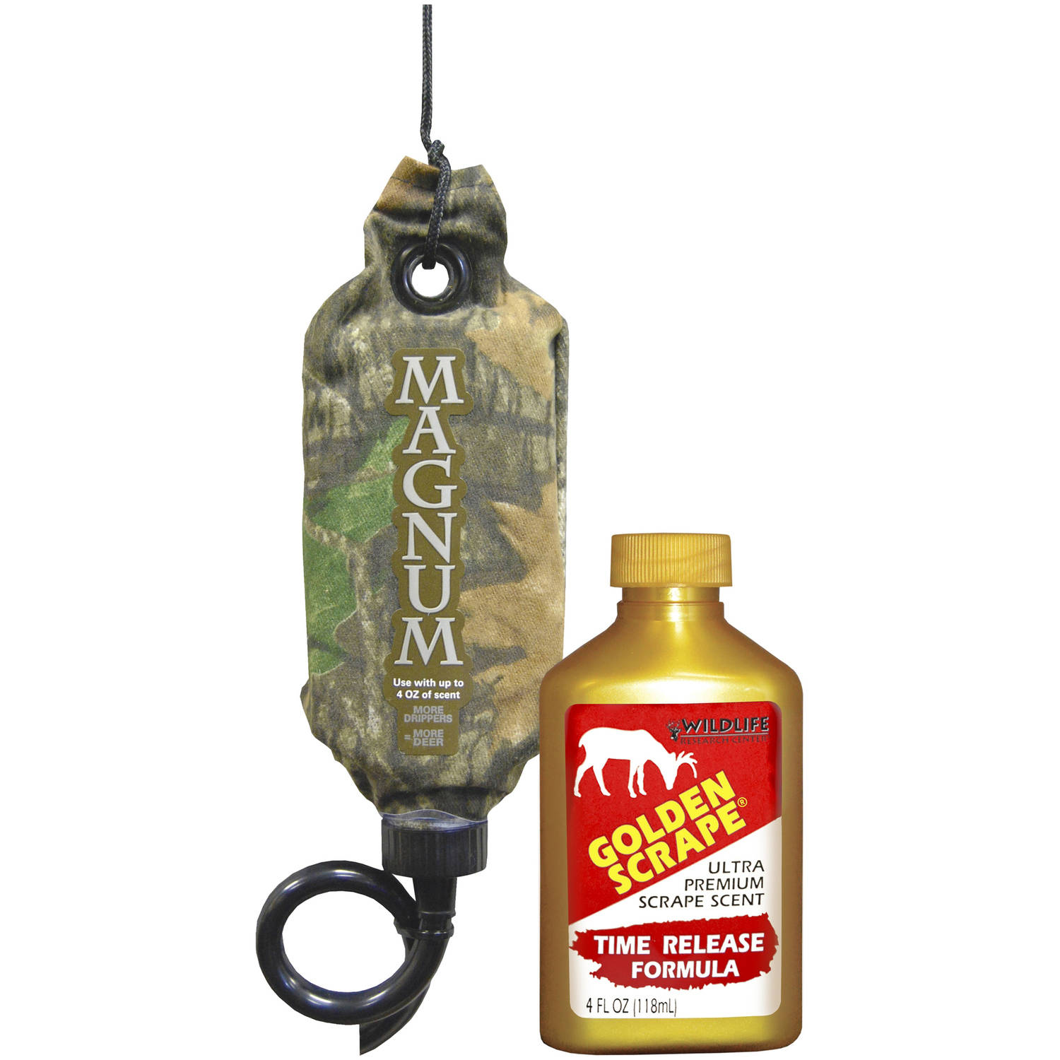 Wildlife Research Center Magnum Dripper with 4 fl oz Golden Scrape