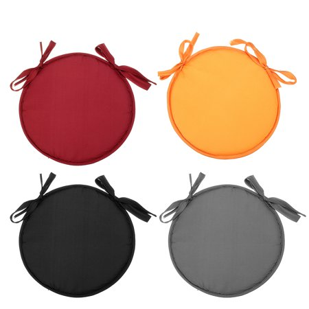 Asewin 1Pc 11.8'' Diameter Round Seat Cushion with Handles Chair Pad Bistro Chair Cushion Floor Indoor Outdoor Patio Garden Home ()