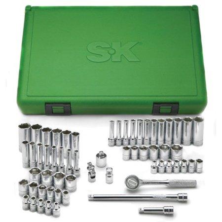"Sk Professional Tools 1/4"" Drive, Socket Wrench Set, 91860"