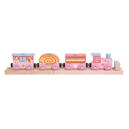 BigJigs Toys Wooden Sweetland Express Train by BigJig Toys