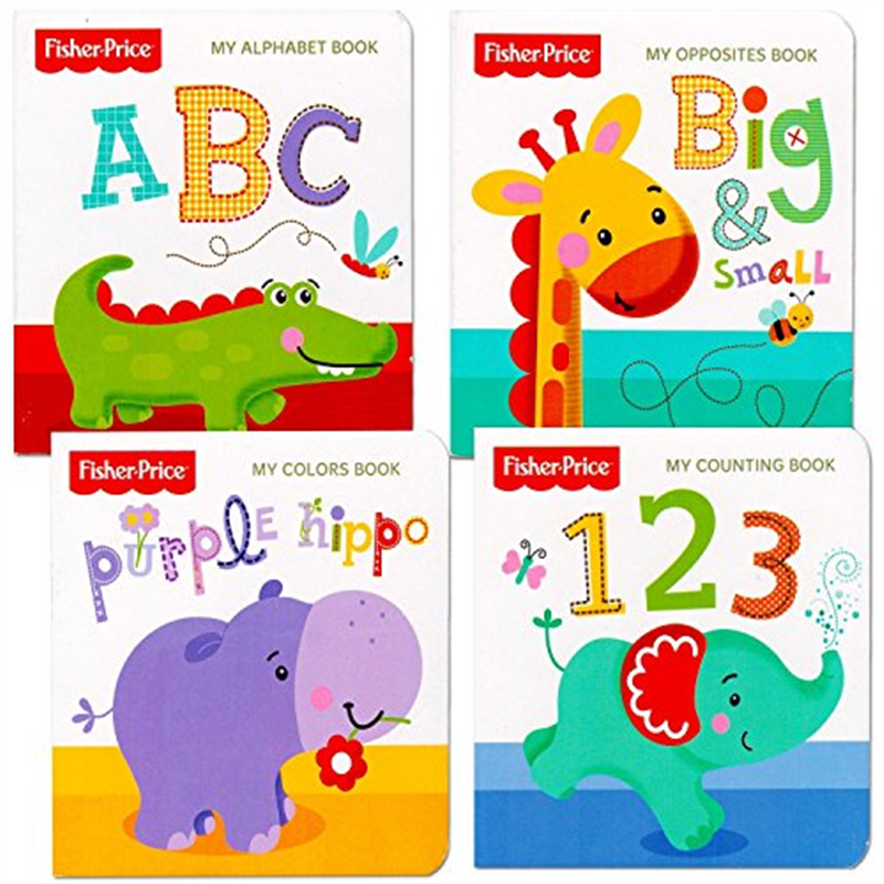 alphabet, colors, opposites & counting book