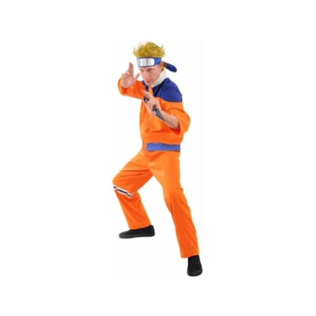 Adult Naruto Style Goku - Naruto Costume For Kids