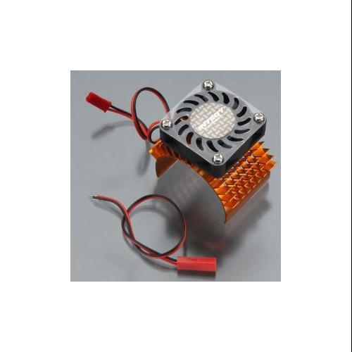 Integy RC Toy Model Hop-ups C23138ORANGE Super Motor Heatsink+Cooling Fan 750 for Traxxas... by Integy