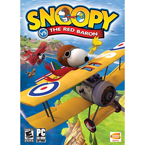 Namco Snoopy Vs. The Red Baron - PC