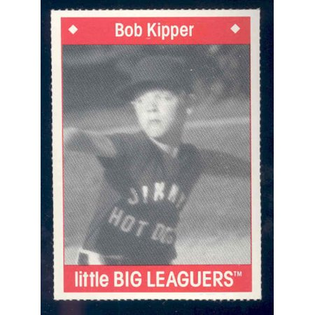 1990 Little Big Leaguers Bob Kipper Pirates Little League Photo