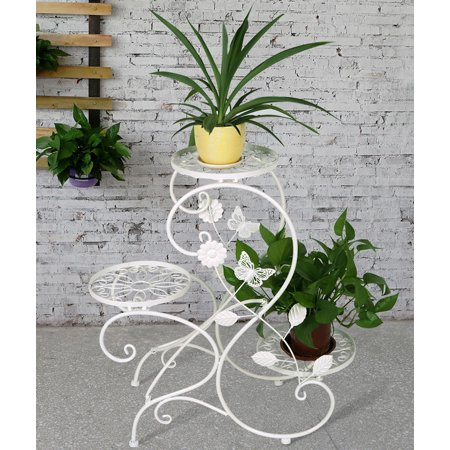3 Tier Plant Stands - 3-tier Classic Plant Stand with Modern
