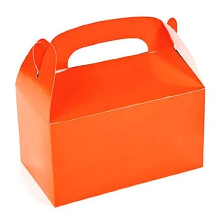 Lot of 12 Orange Treat Boxes Halloween Party Favors - Halloween Treats Part 2