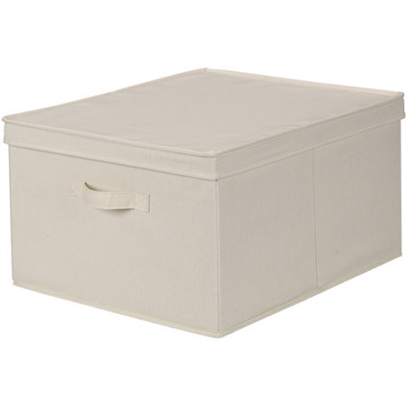 Storage boxes and baskets are not just containers to throw things into. They're also a great way to complement your existing home furnishings. They come in a range of styles, colors and materials that allow you to take a simple, functional item and make it something personal you're happy to have in plain sight. Storage box with lid. $3.