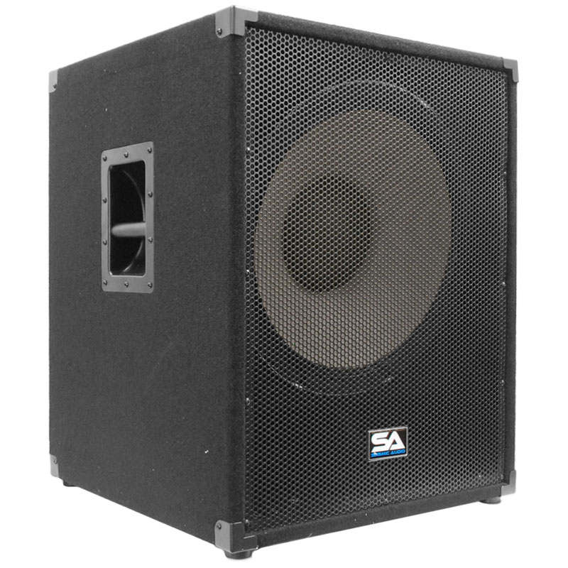 "Seismic Audio  18"" PA POWERED SUBWOOFER Active Speaker - EnforcerII_PW"