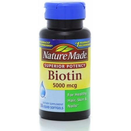 Nature Made 5000 mcg Biotine