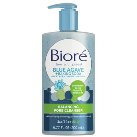 2 Pack - Biore Baking Soda Liquid Pore Cleanser 6.77