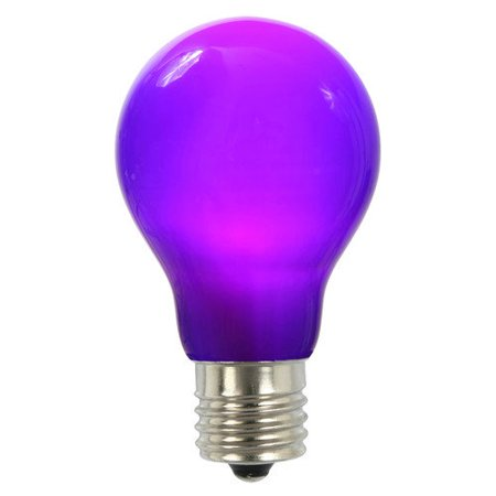 Vickerman 12w Purple E26 Led Light Bulb