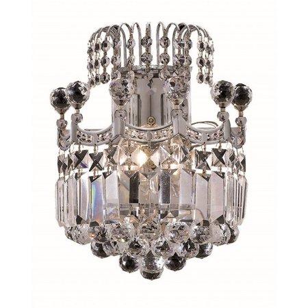 "Elegant Lighting Corona 12"" 2 Light Spectra Crystal Wall Sconce - image 1 de 1"