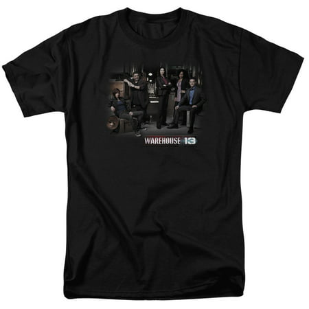 Warehouse 13 Warehouse Cast   S S Adult 18 1   Black   Lg