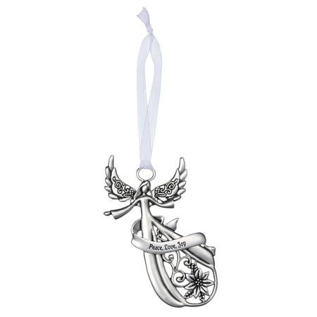 - Angel Ornament by Ganz - Peace Love Joy