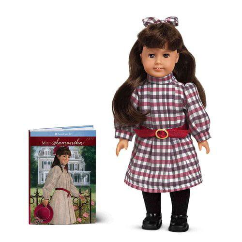 American Girl Samantha Mini Doll with Mini Book - Walmart.com